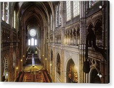 Notre-dame Cathedral Of Chartres Acrylic Print by Everett