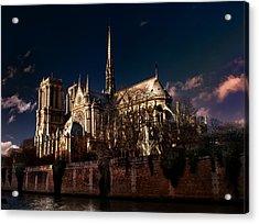 Notre Dame Paris Acrylic Print