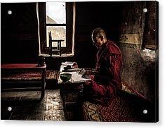 Nun's World Acrylic Print