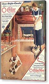 O-cedar 1910s Usa Polish Dusting Acrylic Print