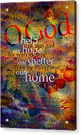 O God Our Help Acrylic Print