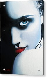 Obsession Acrylic Print by Newton Florentino