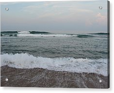 Ocean At Buxton Nc 7 Acrylic Print by Cathy Lindsey
