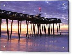Ocean City Sunrise Acrylic Print by Dan Myers