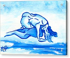 Ocean Of Desire Acrylic Print