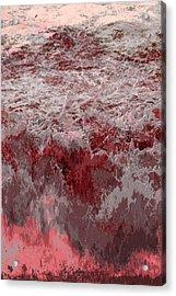 Ocean Series 8 Acrylic Print by Franco Timitilli