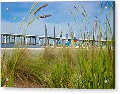 Ocean Springs Yacht Club Acrylic Print