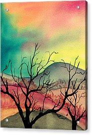 October Sky Acrylic Print