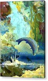 Octopus' Garden 2   Acrylic Print