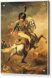 Officer Of The Hussars Acrylic Print