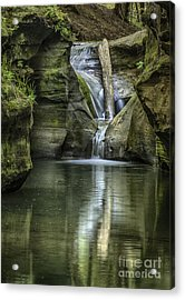 Ohio Waterfall Acrylic Print