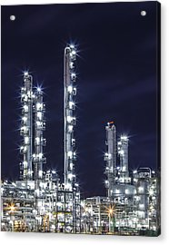 Oil Refinery Industry Acrylic Print
