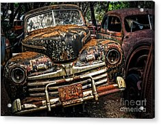 Old Rusty Ford Acrylic Print