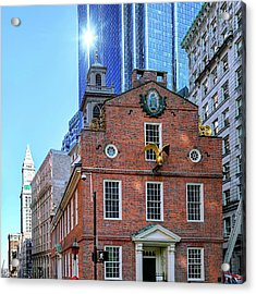 Old And New Boston Acrylic Print