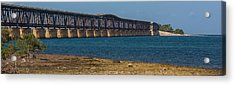 Old Bahia Honda Bridge Acrylic Print