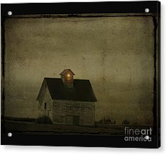 Old Barn Acrylic Print by Jim Wright