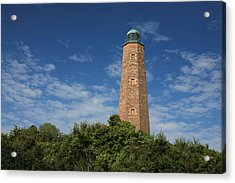 Old Cape Henry Lighthouse Acrylic Print by JC Findley