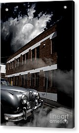 Old Car Near Building Acrylic Print by Jorgo Photography - Wall Art Gallery