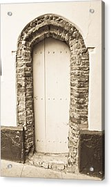 Old Doorway Acrylic Print by Tom Gowanlock