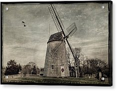 Old Hook Windmill Acrylic Print