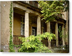Acrylic Print featuring the photograph Old Hospital In Berlin Buch by Art Photography