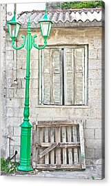 Old House Acrylic Print by Tom Gowanlock