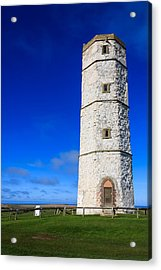 Old Lighthouse Flamborough Acrylic Print