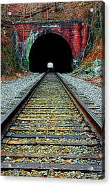 Old Main Line Acrylic Print by Mike Flynn