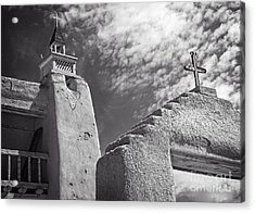 Old Mission Crosses Acrylic Print