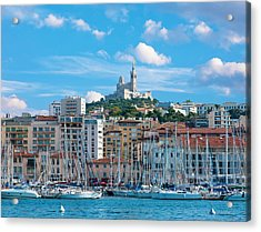 Old Port Of Marseille Acrylic Print
