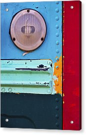 Acrylic Print featuring the photograph Old School by Skip Hunt