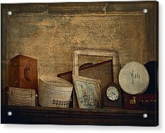 Old Things  Acrylic Print by Maria Angelica Maira