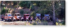 Oldtimers Rendezvous Acrylic Print by Lynn Bauer