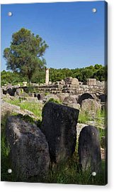 Olympia, Greece Acrylic Print by Ken Welsh