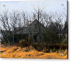 On Hwy 49 North Of Waupaca  Acrylic Print