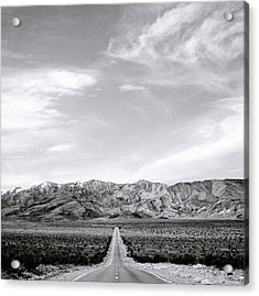 On The Road Acrylic Print by Shaun Higson