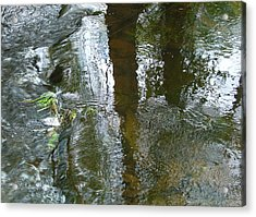 On Under And Through Acrylic Print