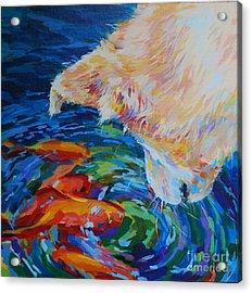 One Fish Two Fish Acrylic Print by Kimberly Santini
