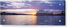 Opera House At The Waterfront, Sydney Acrylic Print