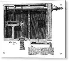 Optical Telegraphy Acrylic Print