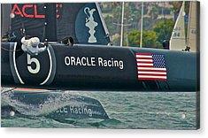 Oracle Team Usa Acrylic Print