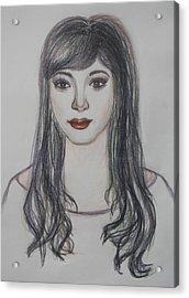 The Oriental Girl   Acrylic Print