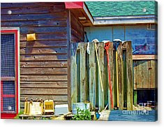 Out To Dry Acrylic Print by Debbi Granruth