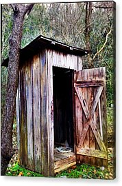 Outhouse Acrylic Print