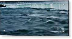 Over The Edge Acrylic Print by Butch Phillips