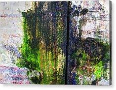 Paint And Rust 33 Acrylic Print by Jim Wright