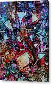 Palimpsest  Acrylic Print