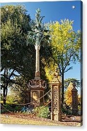 Palmetto Regiment Monument  Acrylic Print by Charles Hite