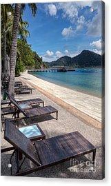 Pangkor Laut Acrylic Print by Adrian Evans