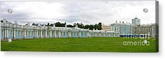 Panorama Catherine Park Castle Acrylic Print by Art Photography